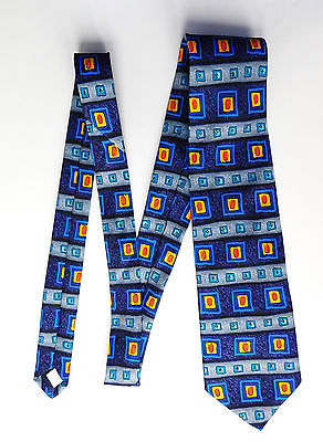 Mens blue tie by Woods & Gray
